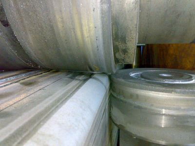 Прокатный стан непрерывной прокатки для производства квадратных, прямоугольных и круглых труб.