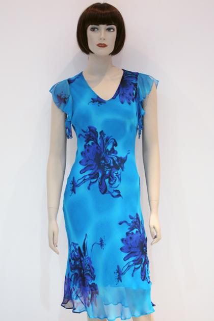 Сшить платье шёлковое 76