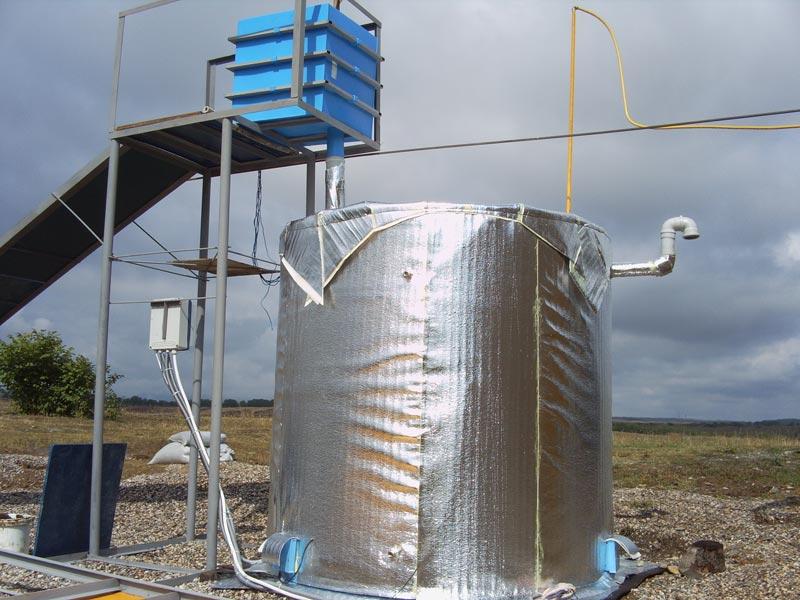 Простейшая биогазовая установка своими руками