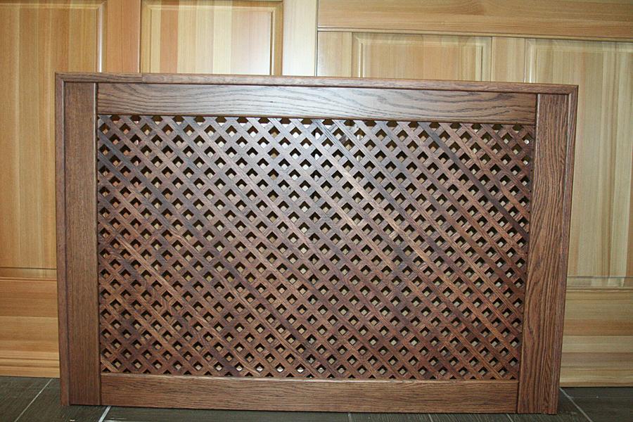 Декоративная решетка для радиаторов отопления своими руками