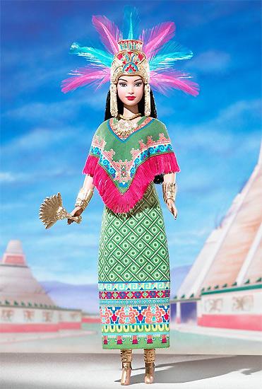 Купить Кукла Barbie C2203 ацтекская принцесса