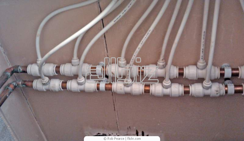 Монтаж отопления из металлопластиковых труб своими руками