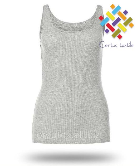 Buy Undershirt female melange of 100% x / 155 gr./sq.m Wholesale