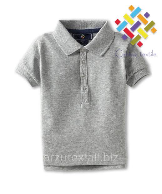Купить Рубашки поло детские меланж 160 гр/м2 Оптом