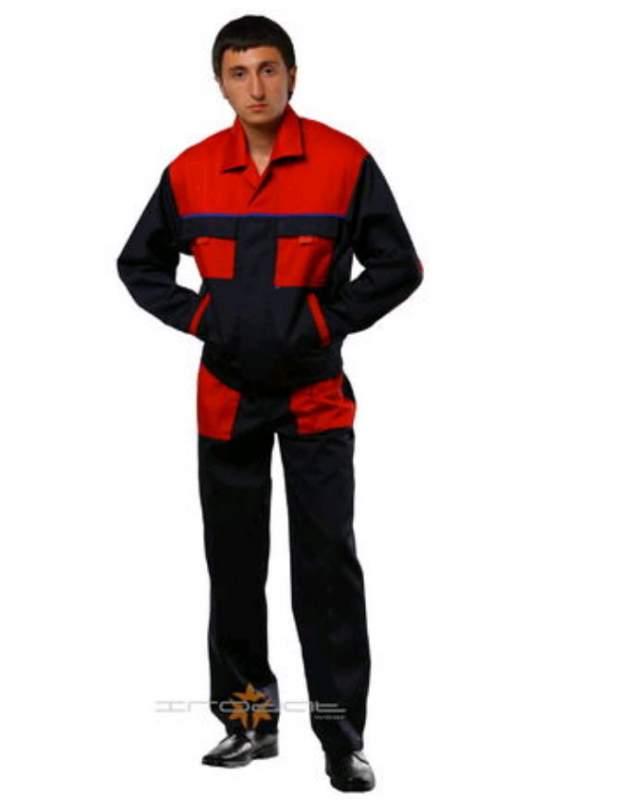 Костюм мужской рабочий, Одежда рабочая