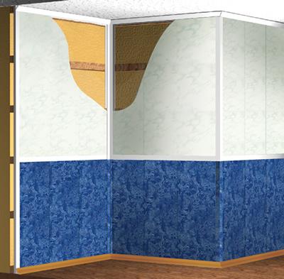 Установка пластиковых стеновых панелей своими руками 41