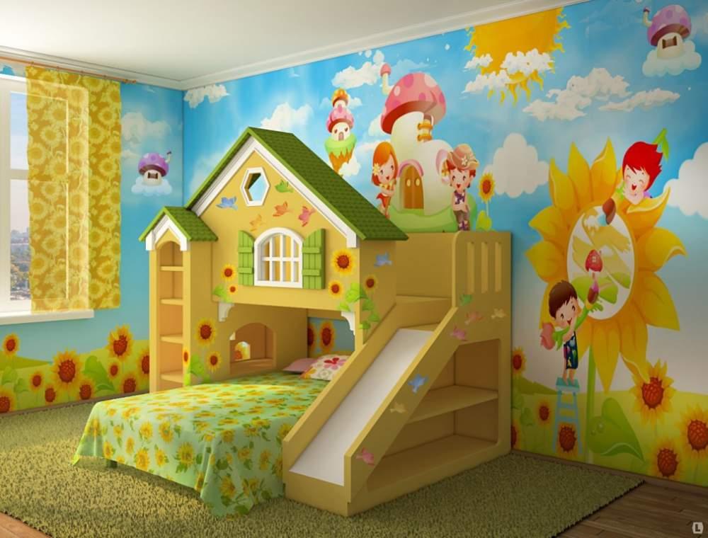 Как сделать детскую комнату своими руками