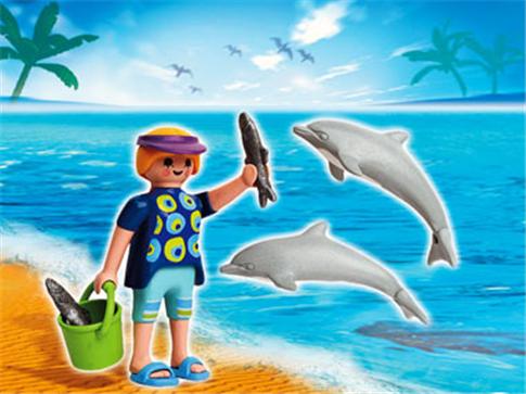 набор рыбалка дельфины