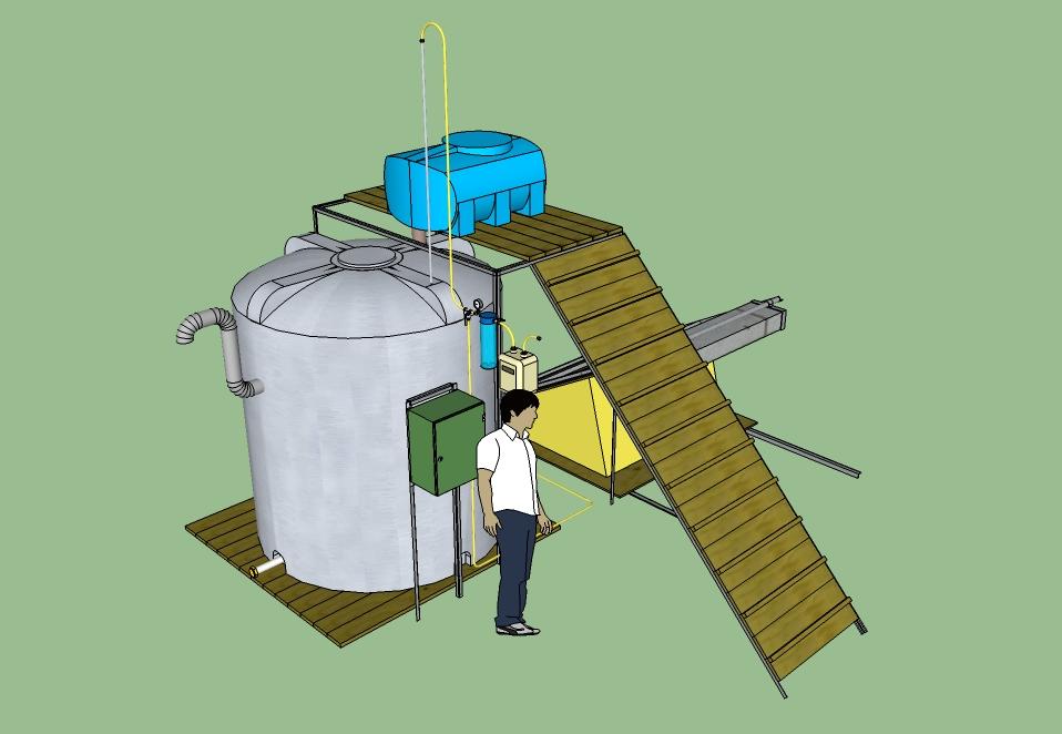 Биогазовые установки для переработки органических отходов купить в ... a78de68ec2055