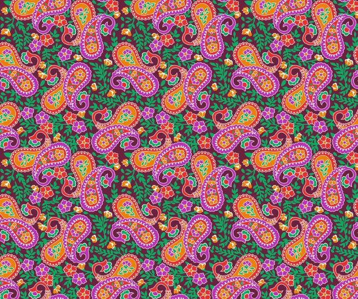 Ткани цветочные