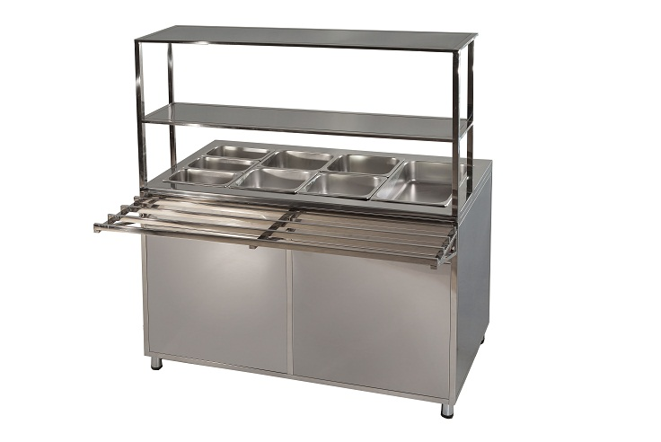 Buy Line of distribution of food, professional kitchen equipment, equipment for a public catering.