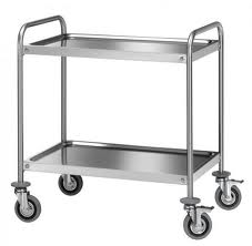 Buy Carts serving of stainless steel