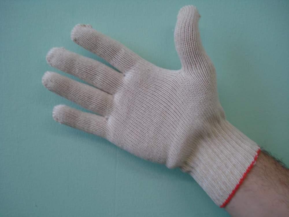 Купить Перчатки пятипалые рабочие хб