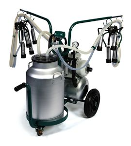 "The milking machine for small and average farms of"" MobiMelk"