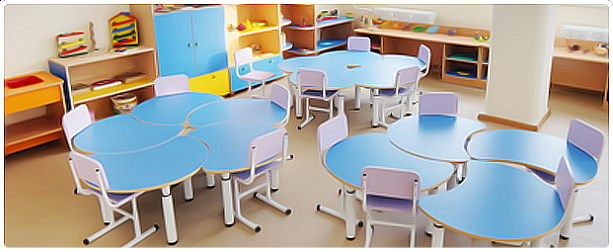 Мебель для детского сада - идеи для дома.