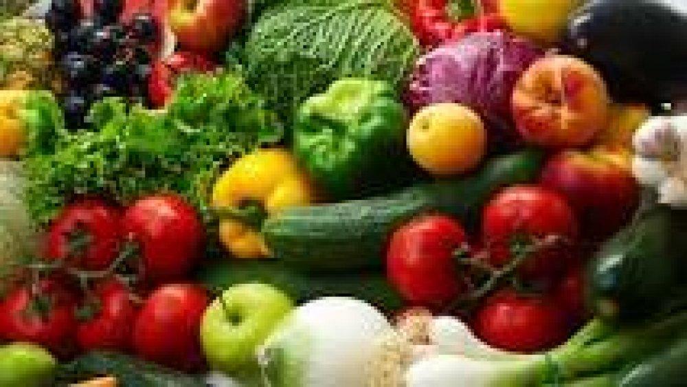 Купить Свежие овощи и фрукты
