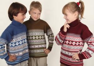 Купить Детские вязанные свитера