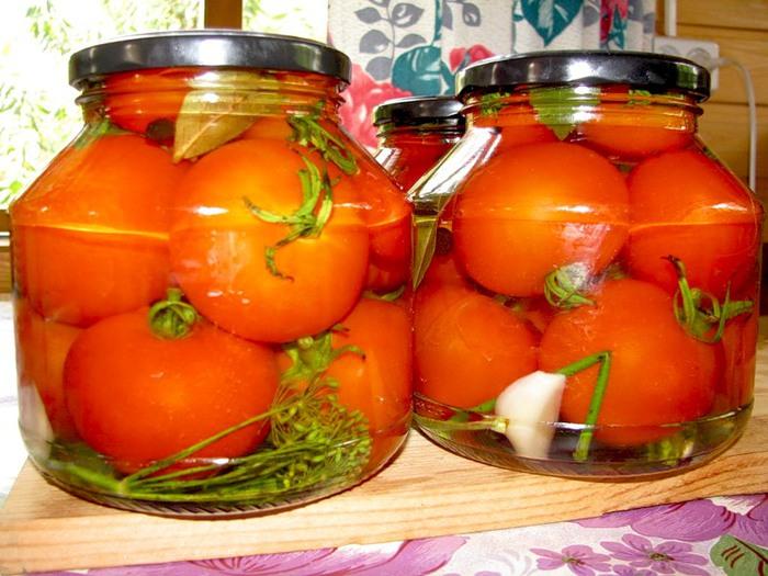 Купить Томаты маринованные, помидоры