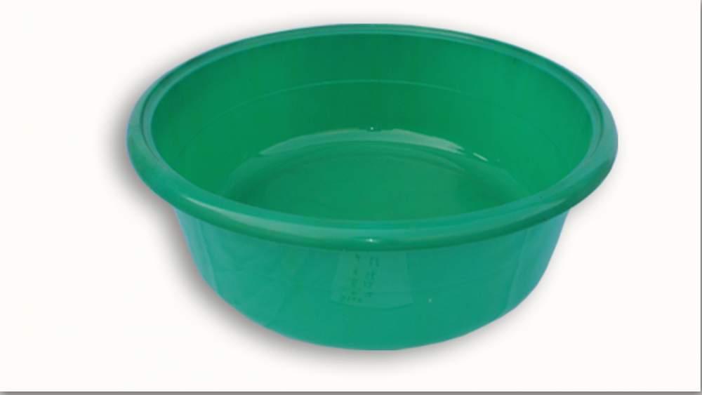 Купить Таз пластмассовый зеленый