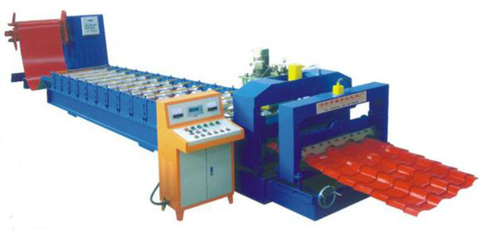 Buy Equipment for production of a metal tile