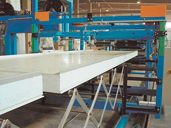 Buy Equipment for production sandwich panels