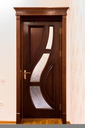 Двери из соснового бруса и МДФ