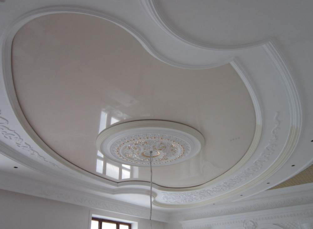 Buy Stretch ceiling Glossy monophonic ligh