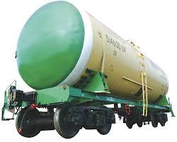 Вагон-цистерна для нефти и нефтепродуктов 15-1219 для перевозки светлых нефтепродуктов