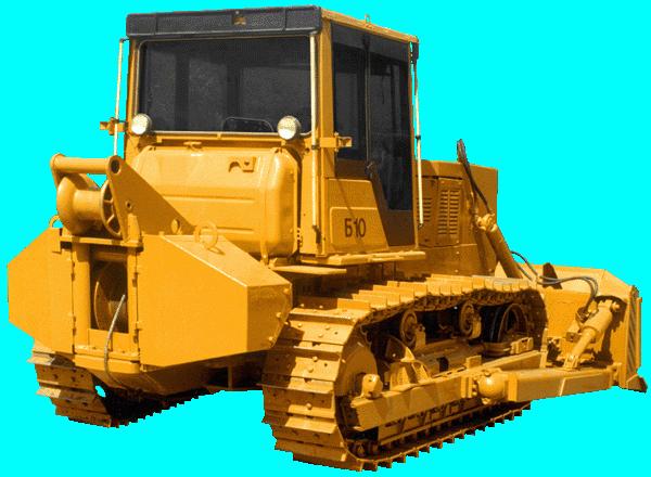 Бульдозер Б10М с тяговой лебедкой