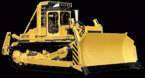 Бульдозерно-рыхлительный агрегат ДЭТ-320