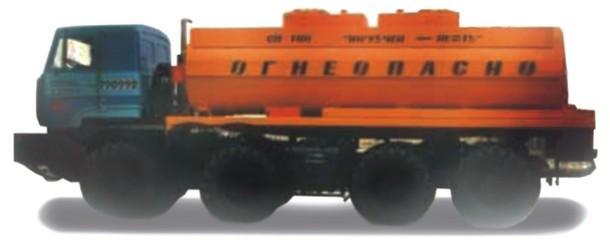 Автоцистерна  АЦ-12