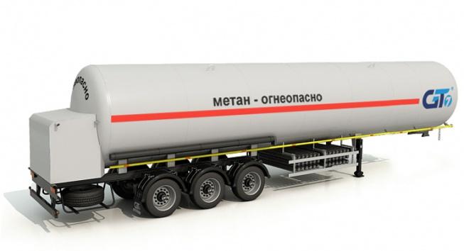 Полуприцеп-топливозаправщик ППЦТ-56