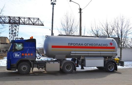 Полуприцеп-топливозаправщик ППЦТ-22