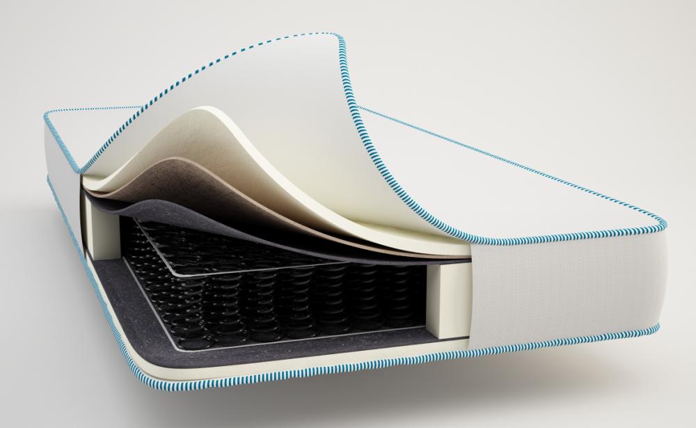 Spring orthopedic mattress