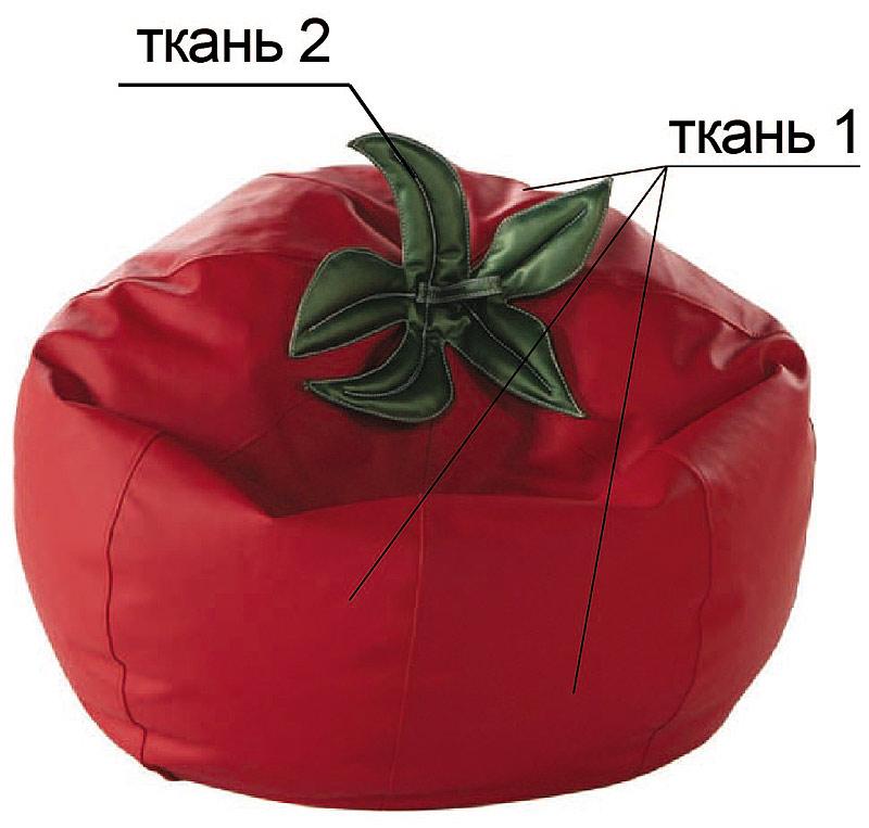Кресло помидор