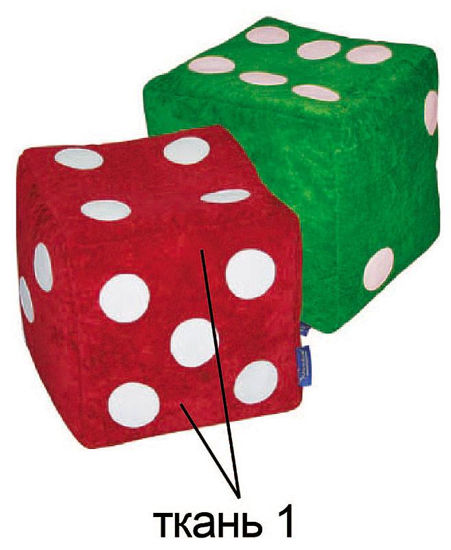 Пуфик кубик