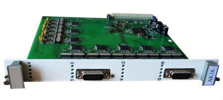 Модуль станционного интерфейса СГМ-СК16 (СГМ-СК8)