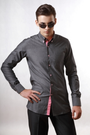 Men's classical shir