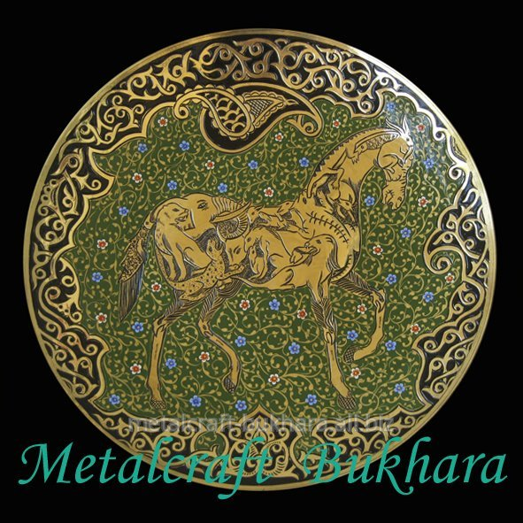 Buy Plate decorative of brass 30-6