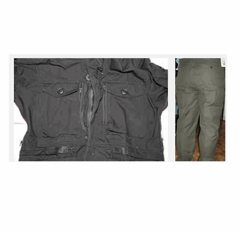 Купить Куртка и брюки из ШЛА