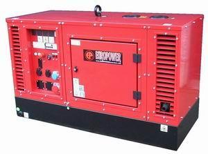 Дизельный генератор EPS163DE (Kubota) с подогревателем о/ж