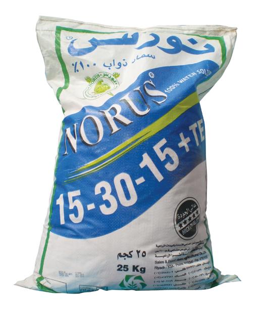 Удобрение Норус 15-30-15+МЭ