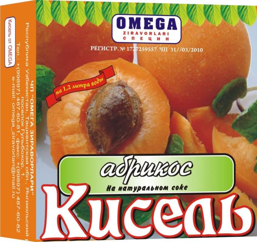 Кисель абрикосовый