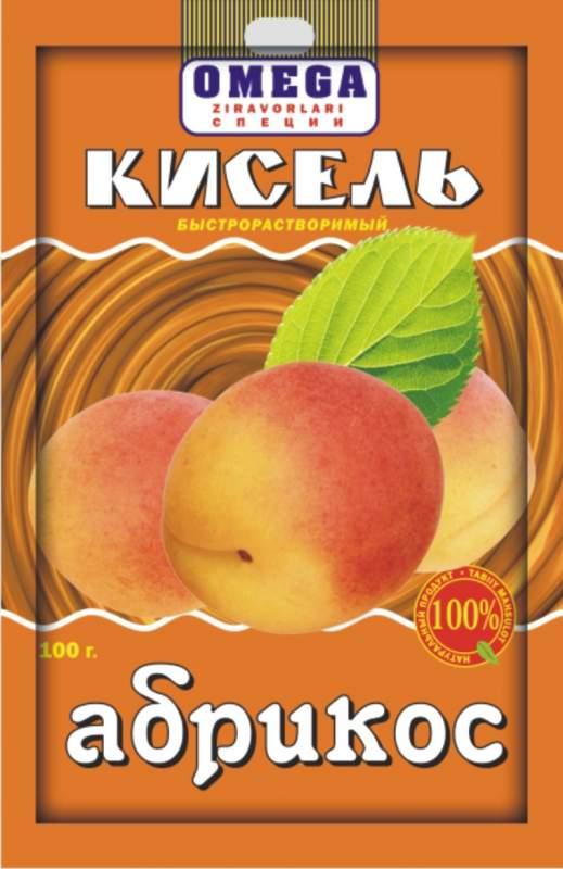 Кисель абрикосовый быстрорастворимой