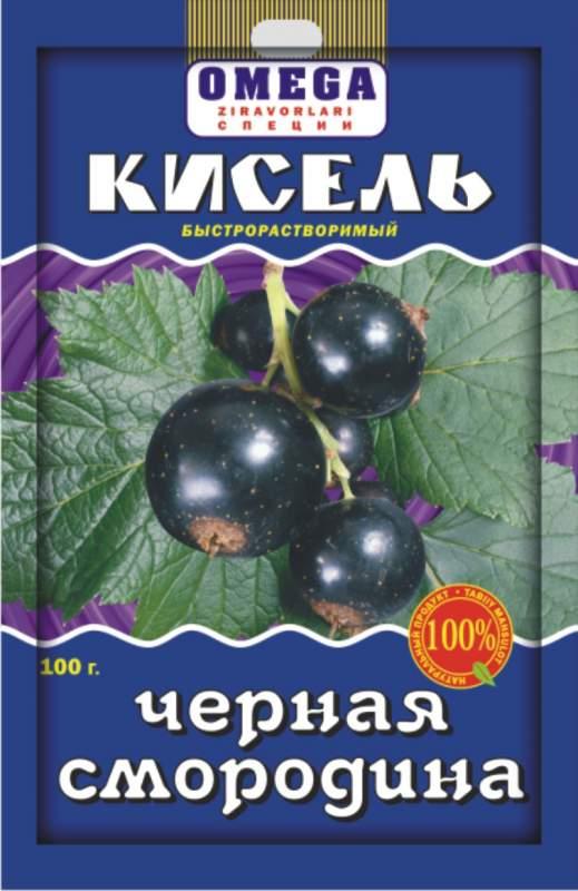 Kissel blackcurrant are instan