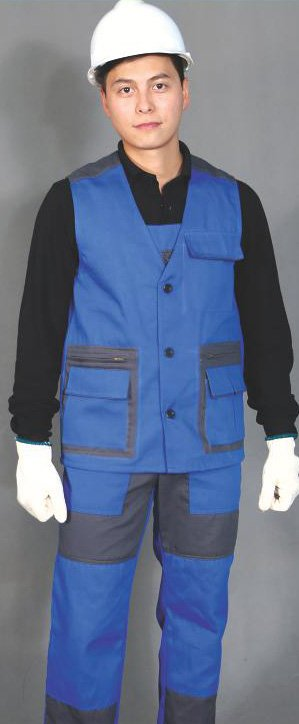 Buy Vest with semi-overalls