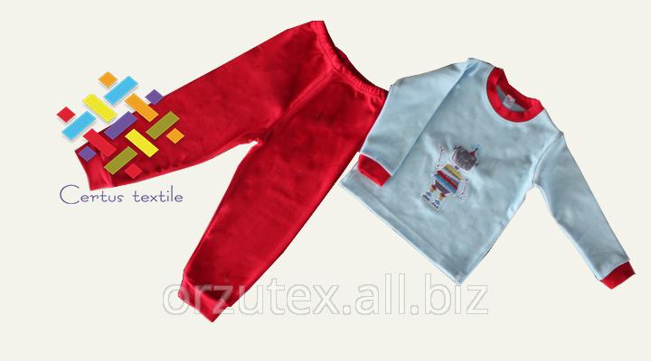 Купить Пижама детская теплая