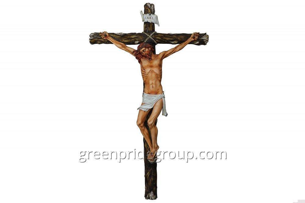 Статуэтка из фарфора Распятый Иисус Христос Артикул 462