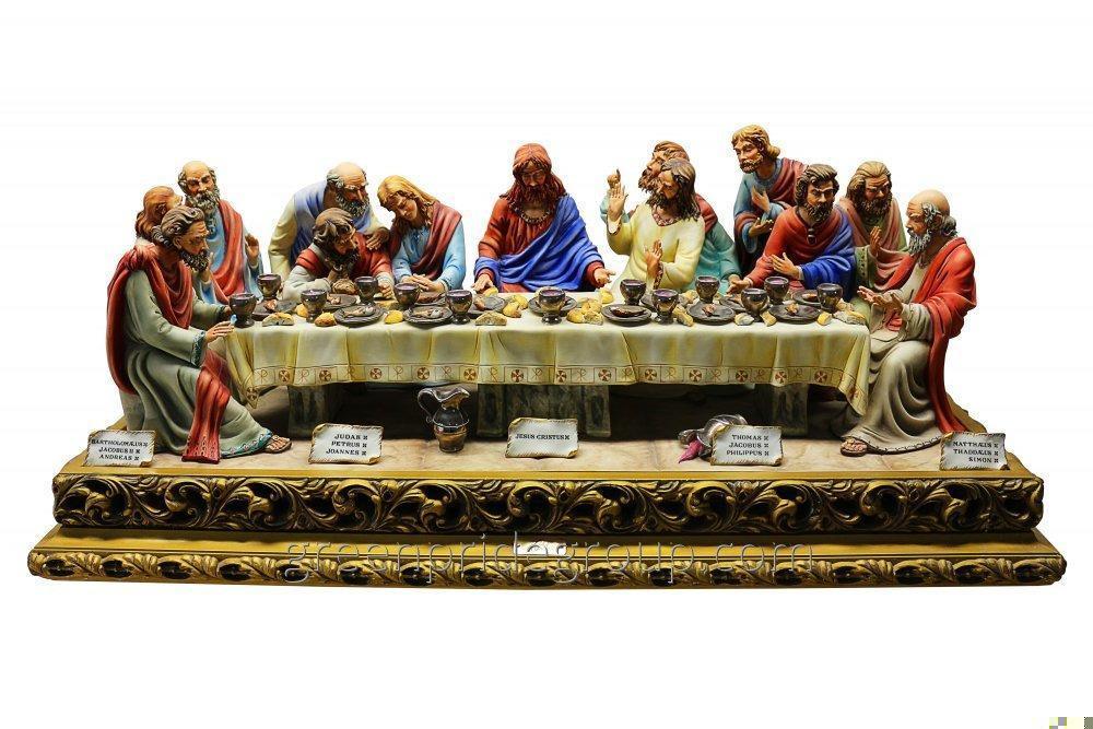 Статуэтка из фарфора Последний Ужин Иисуса Христа Артикул 500