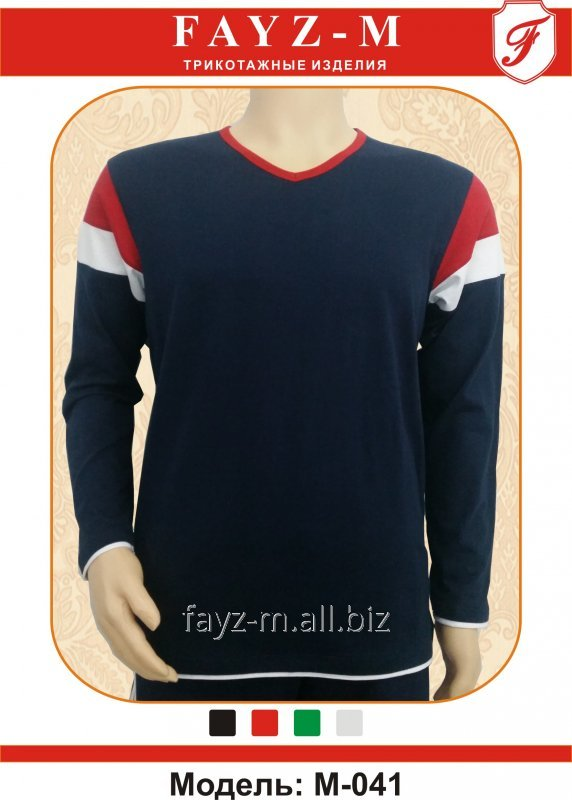 Buy T-shirt man's with long sleeves